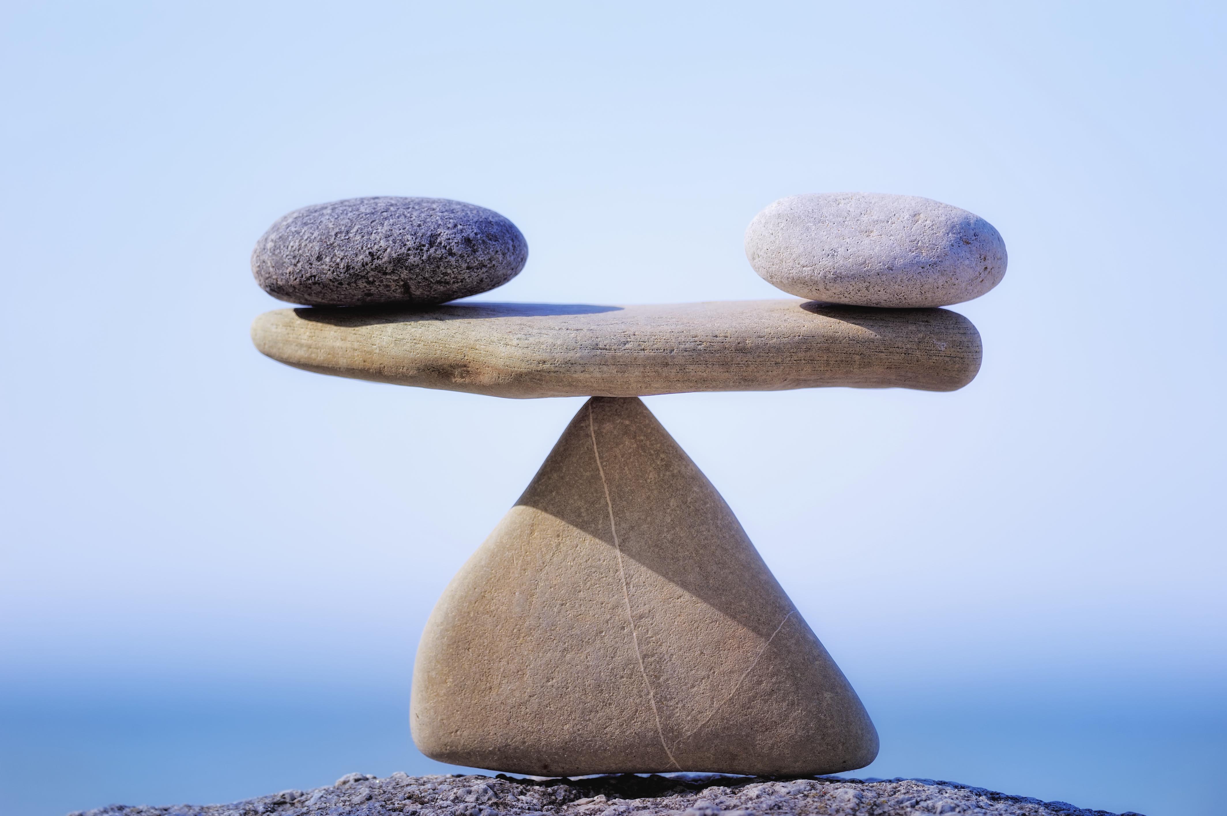 Life values balance