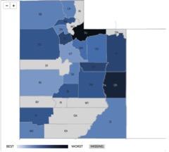 Alcohol Consumption Statistics in Utah